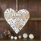 Для дома и интерьера ручной работы. Ярмарка Мастеров - ручная работа Подвесное украшение в форме сердца. Handmade.