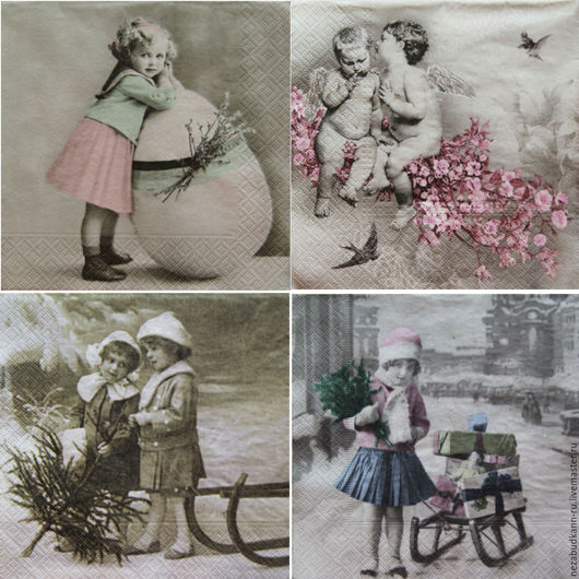 «Девочка с пасхальным яйцом» 282 «Ангелочки на ветке» 283 «Детки в зимнем лесу» 284 «Девочка с подарками» 285