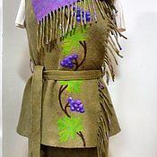 Одежда handmade. Livemaster - original item Felt suit