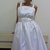 """Свадебный салон ручной работы. Ярмарка Мастеров - ручная работа свадебное платье""""бисерная роза"""". Handmade."""