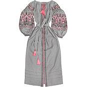 "Одежда handmade. Livemaster - original item Long embroidered dress ""Oriental Beauty"". Handmade."