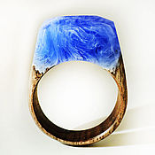 Украшения handmade. Livemaster - original item Wooden ring song of the sea. Handmade.