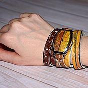 Часы наручные ручной работы. Ярмарка Мастеров - ручная работа Наручные часы - ручная роспись. Handmade.