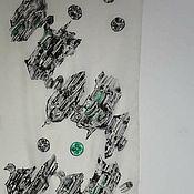 Аксессуары ручной работы. Ярмарка Мастеров - ручная работа Шелковый шарф Венецианская архитектура. Handmade.