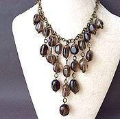 Украшения handmade. Livemaster - original item Necklace hazelnuts from Topaz. Handmade.