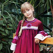 Работы для детей, ручной работы. Ярмарка Мастеров - ручная работа Платье нарядное для девочки. Handmade.