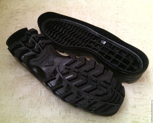 """Валяние ручной работы. Ярмарка Мастеров - ручная работа. Купить Подошва для обуви """"БУТЕКС"""". Handmade. Черный, подошва для ботинок"""