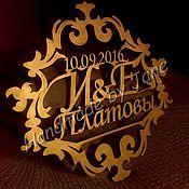 Свадебный салон ручной работы. Ярмарка Мастеров - ручная работа Монограмма свадебная, семейный герб. Handmade.