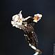 Кулоны, подвески ручной работы. Заказать Кулон. Танцующий цветок.. Валерия Маркова / TESSA. Ярмарка Мастеров. Ар-нуво