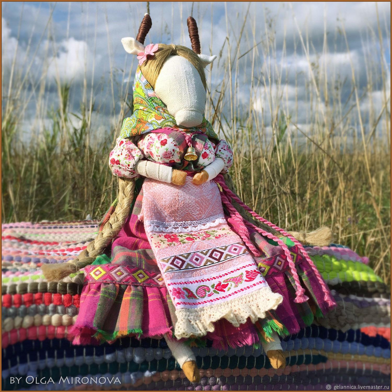 Коза-Дереза, Народная кукла, Санкт-Петербург,  Фото №1