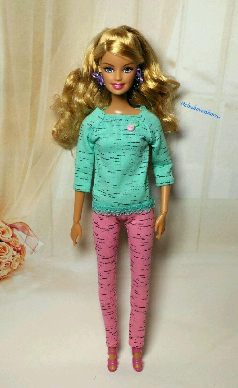 Аксессуары для куклу барби своими руками