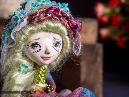 """Коллекционные куклы ручной работы. Ярмарка Мастеров - ручная работа. Купить Миниатюрная коллекционная кукла """"Ветер, который живет в саду"""". Handmade."""