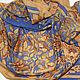 """Шарфы и шарфики ручной работы. батик платок """"Волшебный лес"""", батик на шелке и хлопке. Amarga. Шелк, батик, роспись тканей. Ярмарка Мастеров."""