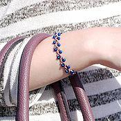 "Украшения handmade. Livemaster - original item Set of Beaded Bracelets ""Adelaide"". Handmade."