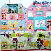 Кукольные домики ручной работы. Ярмарка Мастеров - ручная работа Домик  сумочка #66# для двух кукол Лол.. Handmade.