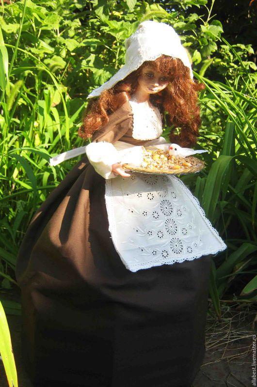 Коллекционные куклы ручной работы. Ярмарка Мастеров - ручная работа. Купить Золушка. Handmade. Комбинированный, коллекционная кукла, сказочные персонажи