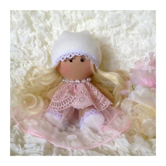 Коллекционные куклы ручной работы. Ярмарка Мастеров - ручная работа. Купить Розовый Ангелочек. Handmade. Кукла ручной работы