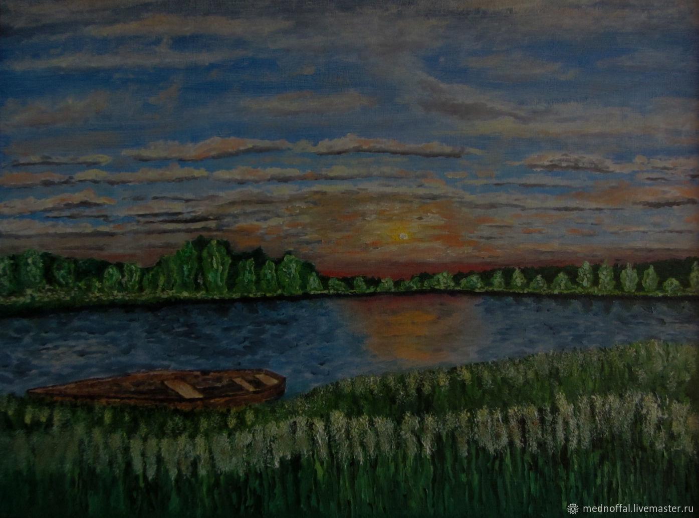 Ранние сумерки, Картины, Нижний Новгород,  Фото №1