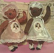 Куклы и игрушки handmade. Livemaster - original item suede ladies angelina,Barbara. Handmade.