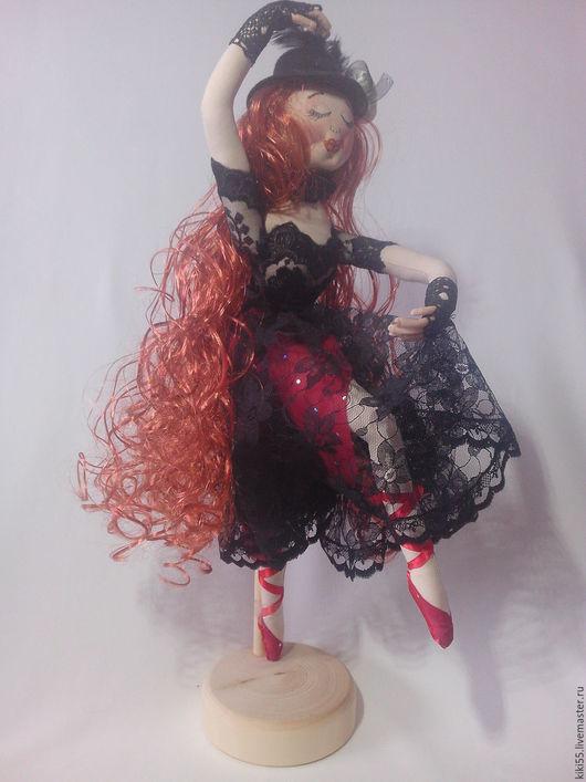 Куклы Тильды ручной работы. Ярмарка Мастеров - ручная работа. Купить Текстильная кукла. Танцовщица.. Handmade. Комбинированный, интерьер, не дорого