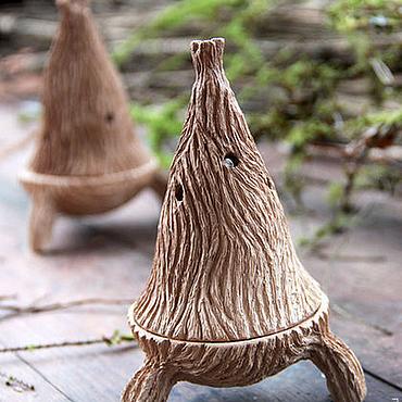 """Фен-шуй и эзотерика ручной работы. Ярмарка Мастеров - ручная работа Курильница """"Хижина шамана"""". Handmade."""