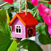"""Цветы и флористика ручной работы. Ярмарка Мастеров - ручная работа """"Голландский домик"""" для декора комнатных растений. Handmade."""