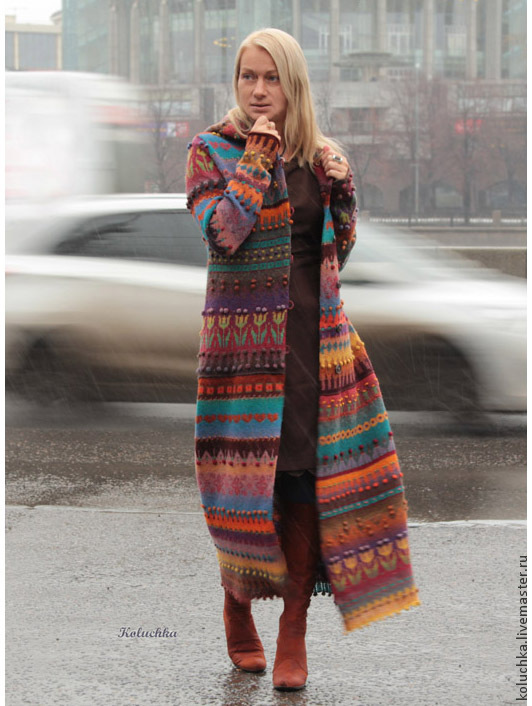 Coat 'Cheerful 2015', Coats, Moscow,  Фото №1