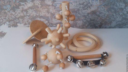 Развивающие игрушки ручной работы. Ярмарка Мастеров - ручная работа. Купить набор для захвата (от 3 до 10 месяцев). Handmade.