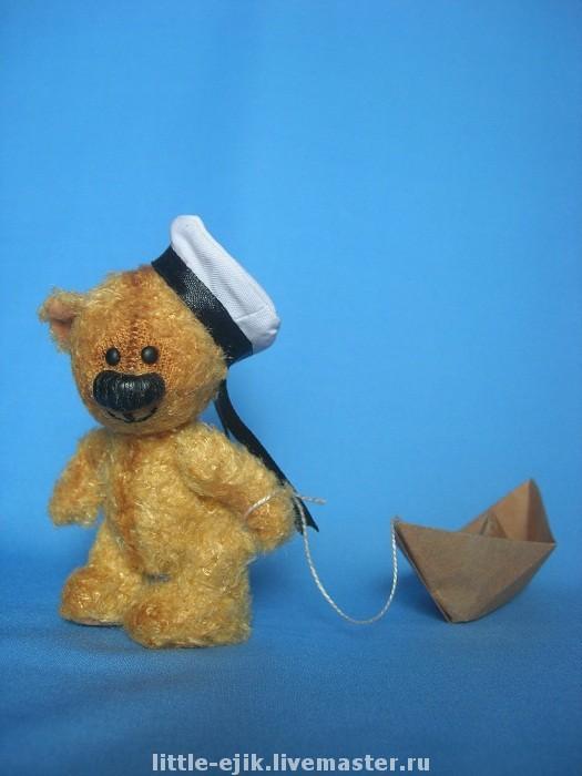 Мишки Тедди ручной работы. Ярмарка Мастеров - ручная работа. Купить мишка Валерик. Handmade. Мишки тедди, авторская игрушка