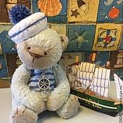 """Куклы и игрушки ручной работы. Ярмарка Мастеров - ручная работа Мишка Тедди """"Будущий капитан"""". Handmade."""