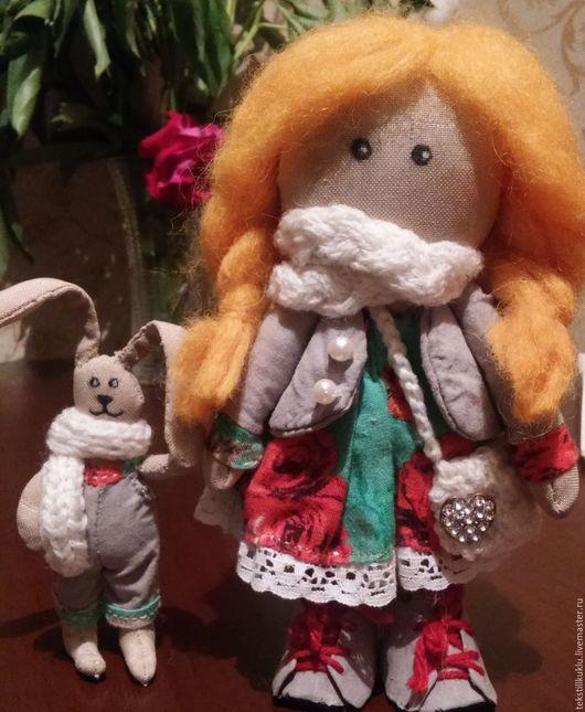 Коллекционные куклы ручной работы. Ярмарка Мастеров - ручная работа. Купить Текстильная кукла. Handmade. Комбинированный, текстиль