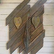 Предметы интерьера винтажные ручной работы. Ярмарка Мастеров - ручная работа Винтажное пано. Handmade.