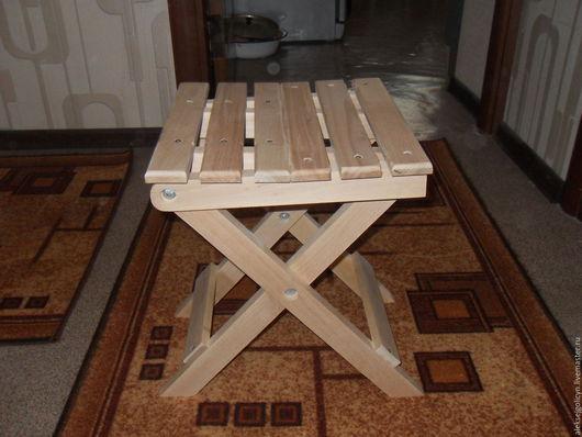 Мебель ручной работы. Ярмарка Мастеров - ручная работа. Купить Табурет  складной. Handmade. Табурет, дача, загородный дом, пикник