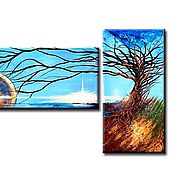 Картины и панно ручной работы. Ярмарка Мастеров - ручная работа Однажды во Вселенной. Handmade.