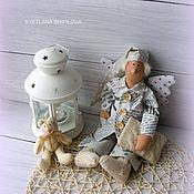 Куклы и игрушки ручной работы. Ярмарка Мастеров - ручная работа Ангелдобрых снов в стиле тильда сплюшка. Handmade.