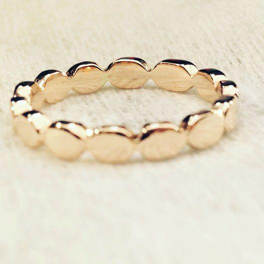 Кольца ручной работы. Ярмарка Мастеров - ручная работа. Купить Золотое кольцо ручной работы. Handmade. Золото 585 пробы