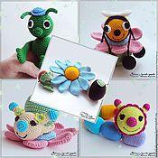 Куклы и игрушки ручной работы. Ярмарка Мастеров - ручная работа Игрушки -погремушки. Handmade.