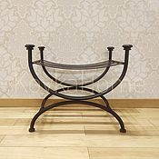 Для дома и интерьера handmade. Livemaster - original item Forged banquette