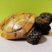 Для дома и интерьера handmade. Livemaster - original item Sculpture made of natural Ural semi-precious stone Turtle. Handmade.