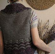 Одежда ручной работы. Ярмарка Мастеров - ручная работа Бохо-жилет Прованс, с универсальным комбинированием. Handmade.
