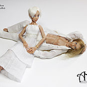 Куклы и игрушки handmade. Livemaster - original item Diane and Chris (12,5/13,5 cm). Handmade.