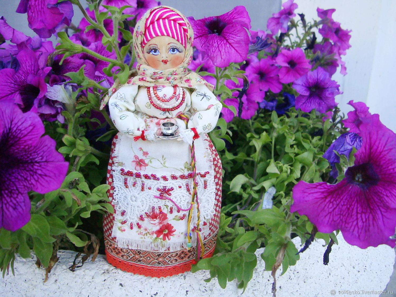 Кукла в русском народном стиле Симочка с серебряной чашечкой, Матрешки, Камышин, Фото №1