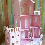 """Кукольные домики ручной работы. Ярмарка Мастеров - ручная работа Кукольный домик для Барби """"Таня"""". Handmade."""