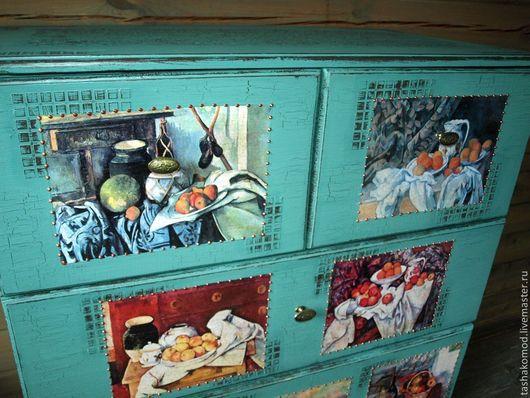 """Мебель ручной работы. Ярмарка Мастеров - ручная работа. Купить Комод """"Натюрморты Сезанна"""". Handmade. Комод, натюрморт"""