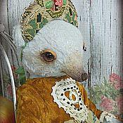 Куклы и игрушки ручной работы. Ярмарка Мастеров - ручная работа Мишка-тедди Настенька. Handmade.