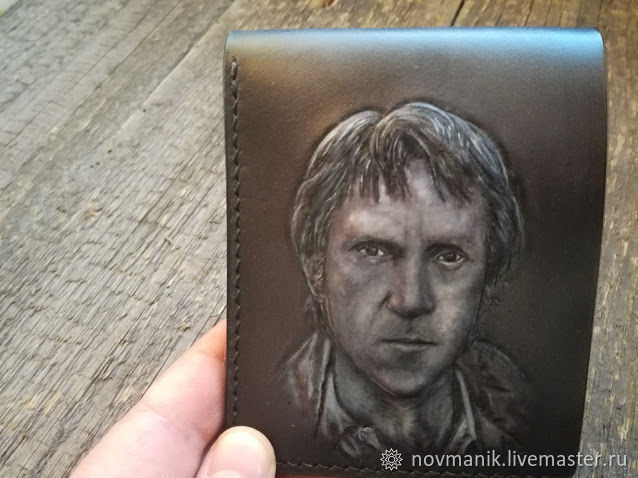 Портмоне (кошелек, бумажник) двойного сложения (Bi-fold wallet) № 40, Кошельки, Ковров,  Фото №1