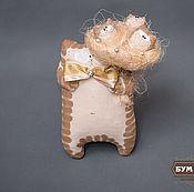 """Куклы и игрушки ручной работы. Ярмарка Мастеров - ручная работа Кот """"Я, Ты и Цветы"""". Handmade."""