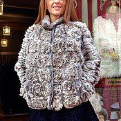 Одежда ручной работы. Ярмарка Мастеров - ручная работа Шубка SilverRose. Handmade.