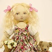 Куклы и игрушки ручной работы. Ярмарка Мастеров - ручная работа Текстильная кукла Маришка. Handmade.