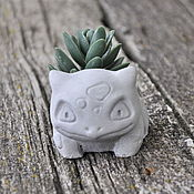 Материалы для творчества handmade. Livemaster - original item Pokemon Bulbasaurus-silicone mold for filling. Handmade.
